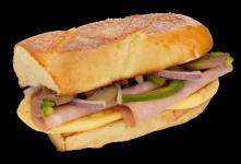 Western Omelet Sub