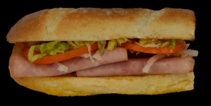 Deluxe Ham and Cheese Sub