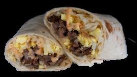 Chipotle Steak Breakfast Burrito