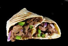 Philly Steak Snack Wrap